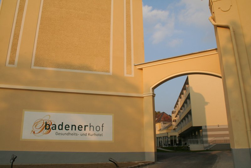 Gesundheits- und Kurhotel Badener Hof ****