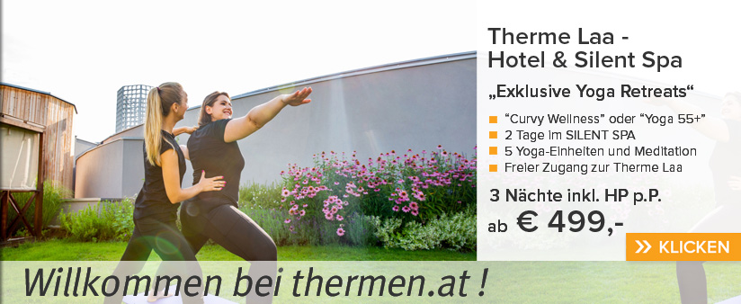 Yoga Retreats in der Therme Laa!