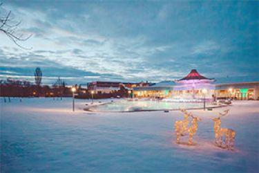 Entspannte Weihnachten im winterlichen Weinviertel