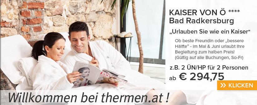 Mai-Special in Bad Radkersburg