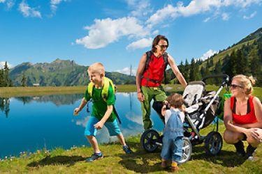 Familien-Wanderurlaub im Tal der Almen
