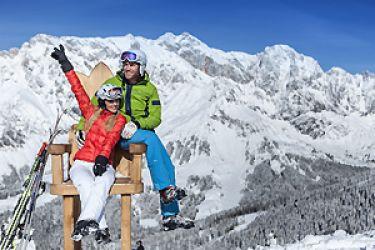 Jänner-Skihit am Hochkönig