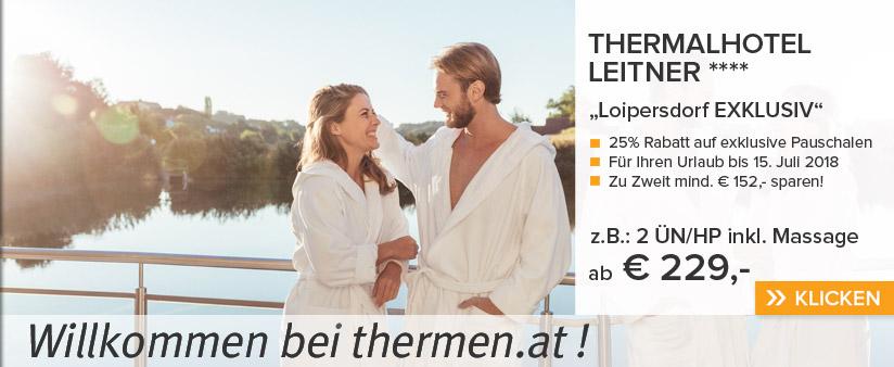 Loipersdorf: 25% Rabatt!