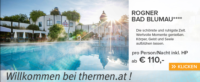 Rogner Bad Blumau - Intensiv-Werbung